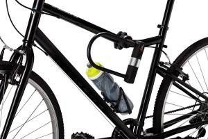 Bike U Lock with Cable - Shackle Cable with Mounting Bracket